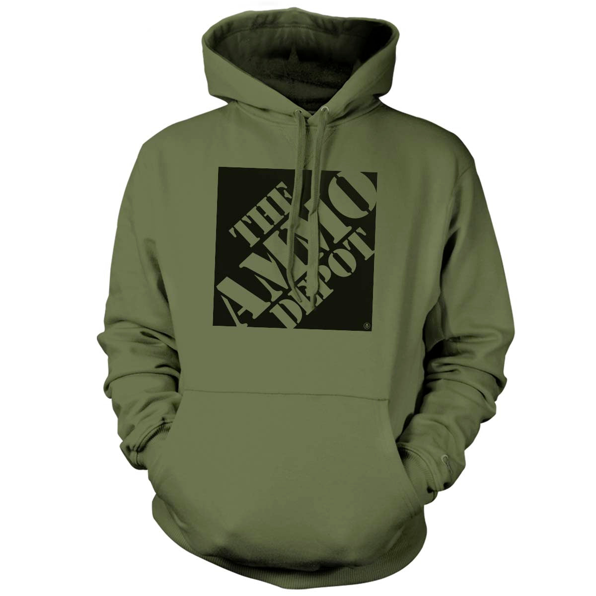 The Ammo Depot - Hoodie - Military Green - Hoodies - Pipe Hitters Union
