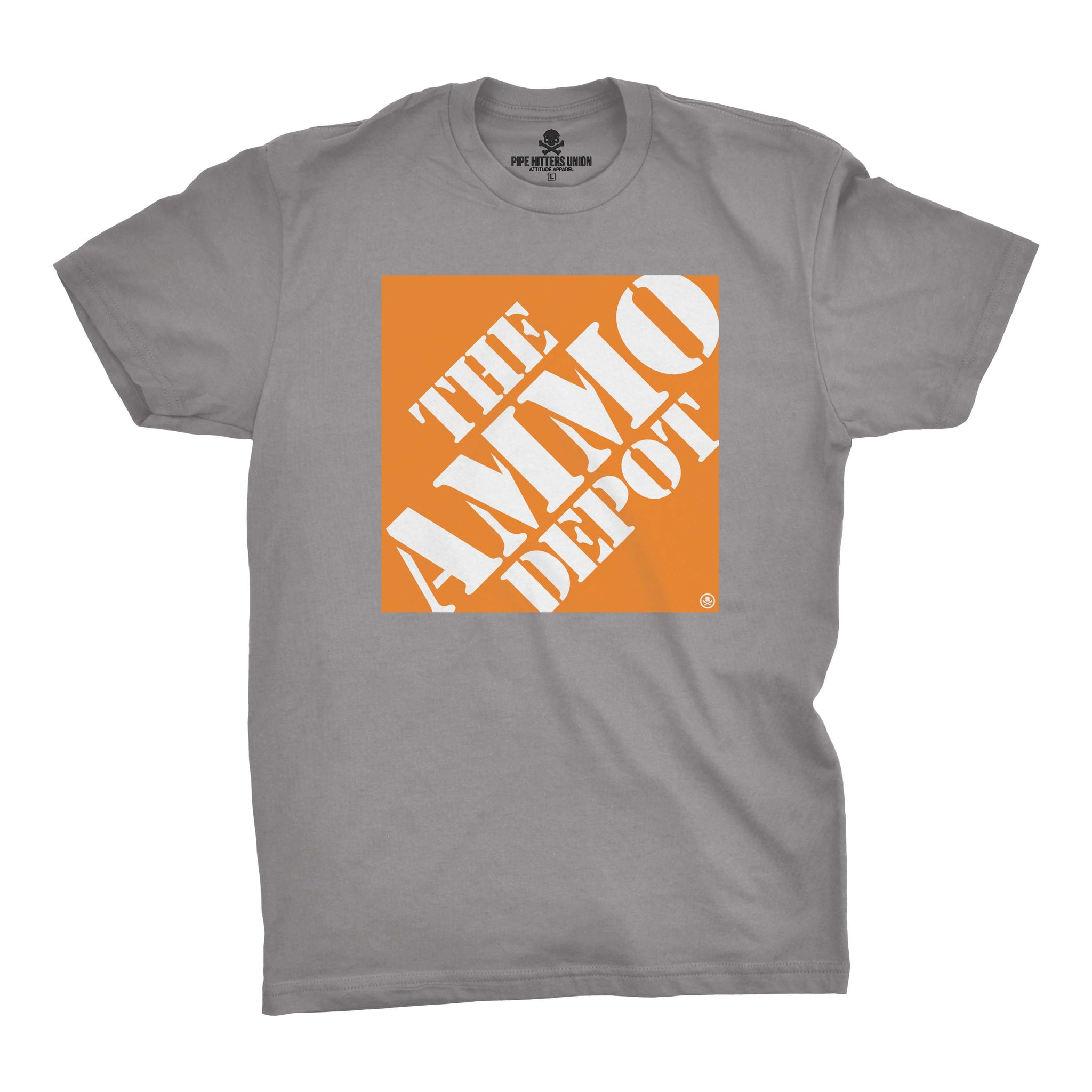 The Ammo Depot - Grey/Orange - T-Shirts - Pipe Hitters Union