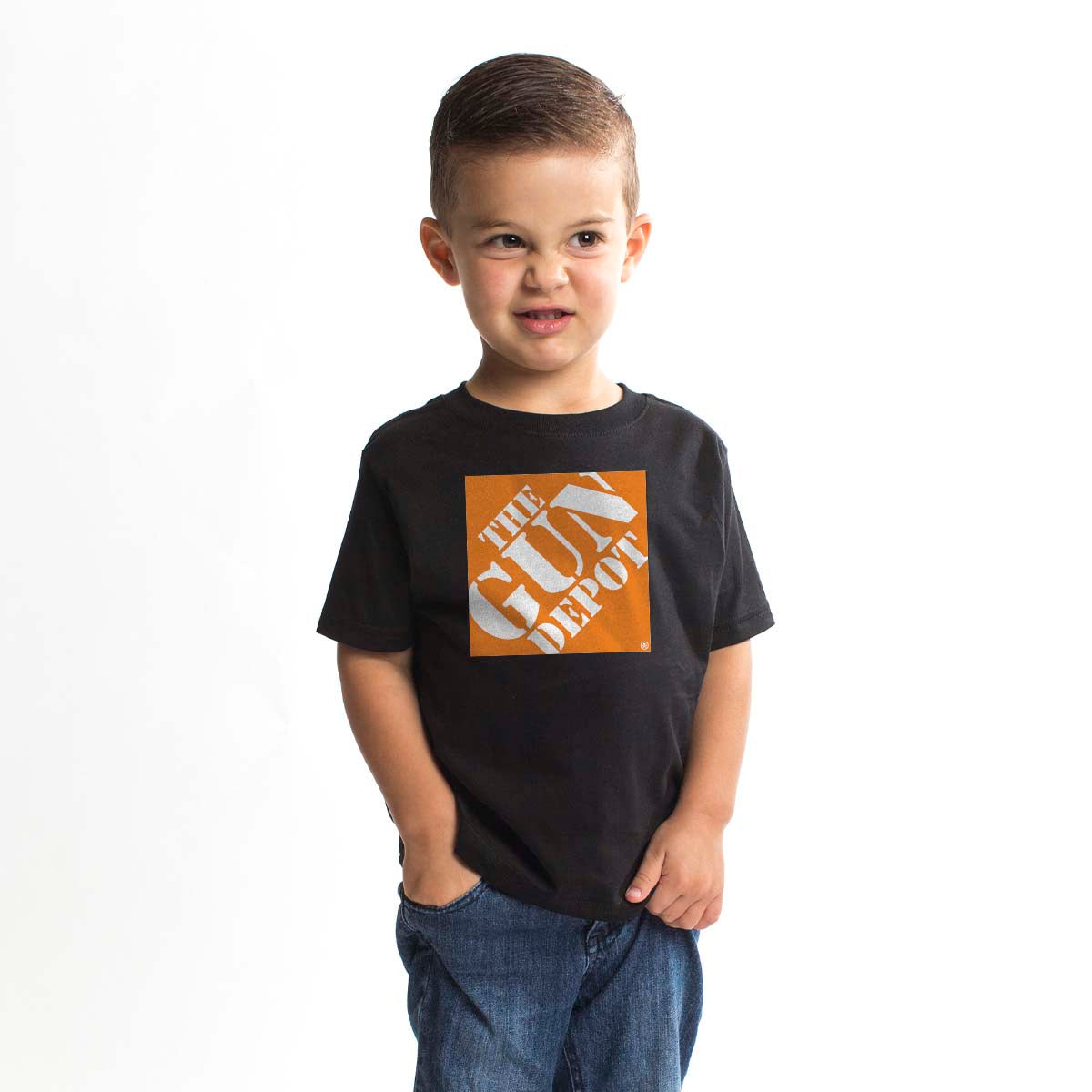 The Gun Depot - Youth - Black/Orange - T-Shirts - Pipe Hitters Union