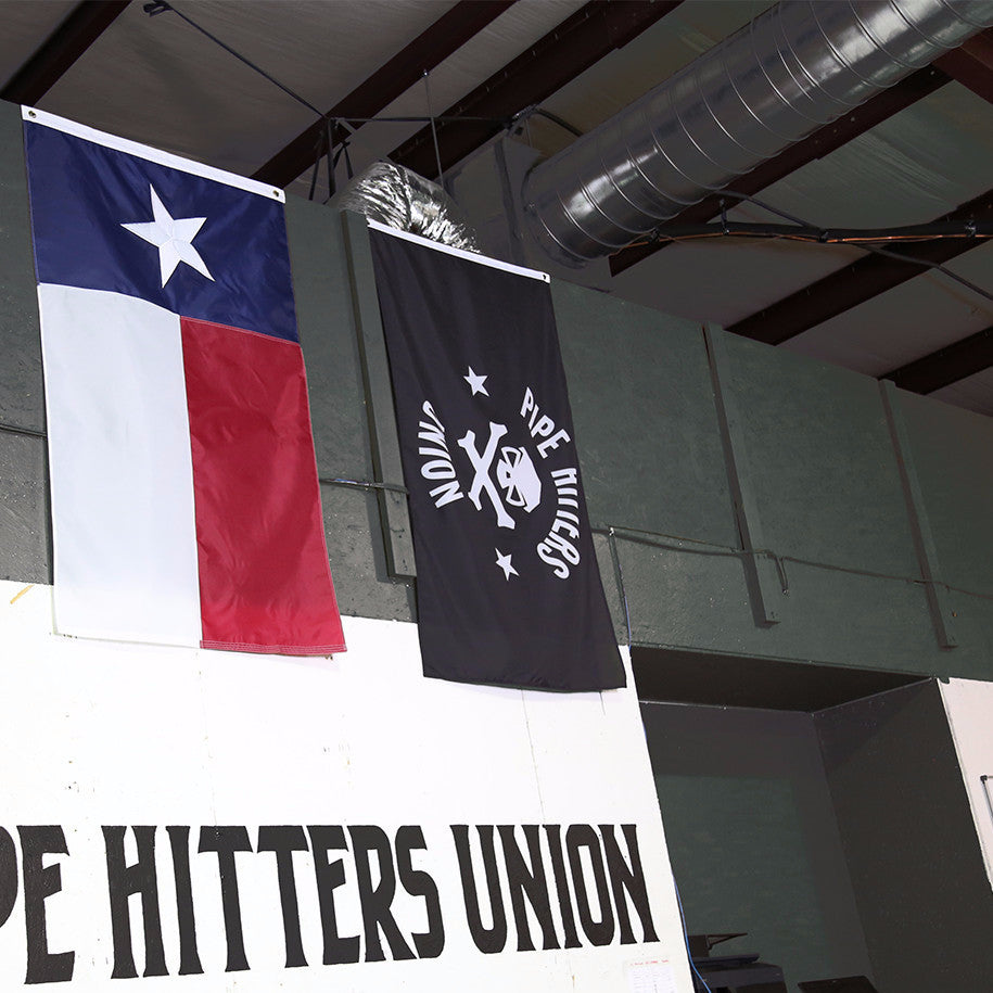 PHU Shield Flag -  - Flag - Pipe Hitters Union