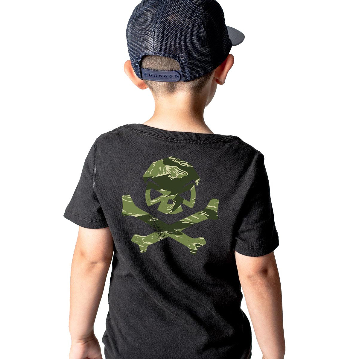 Tiger Stripe Camo - Youth - Black/Green - T-Shirts - Pipe Hitters Union