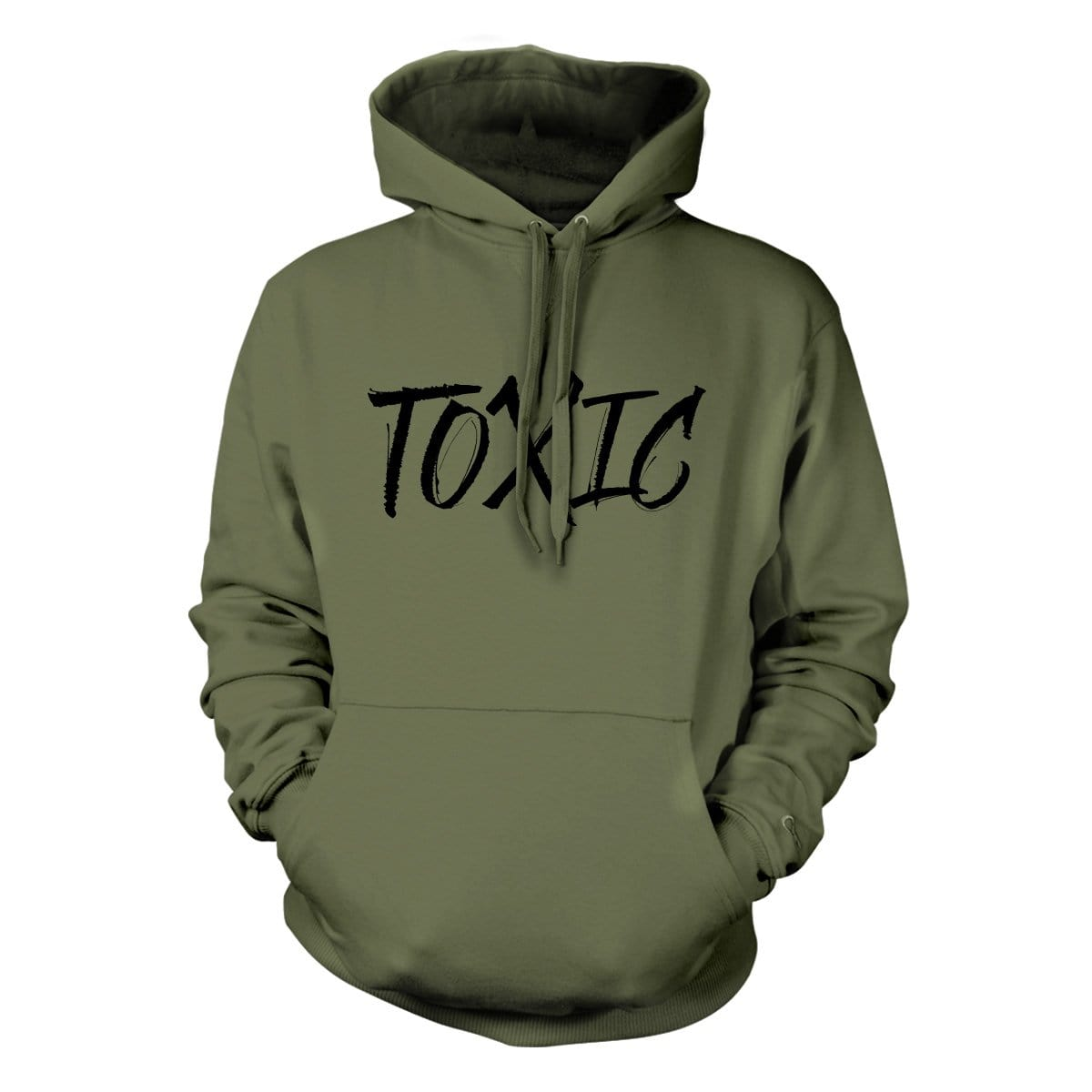 Toxic Hoodie - Military Green - Hoodies - Pipe Hitters Union
