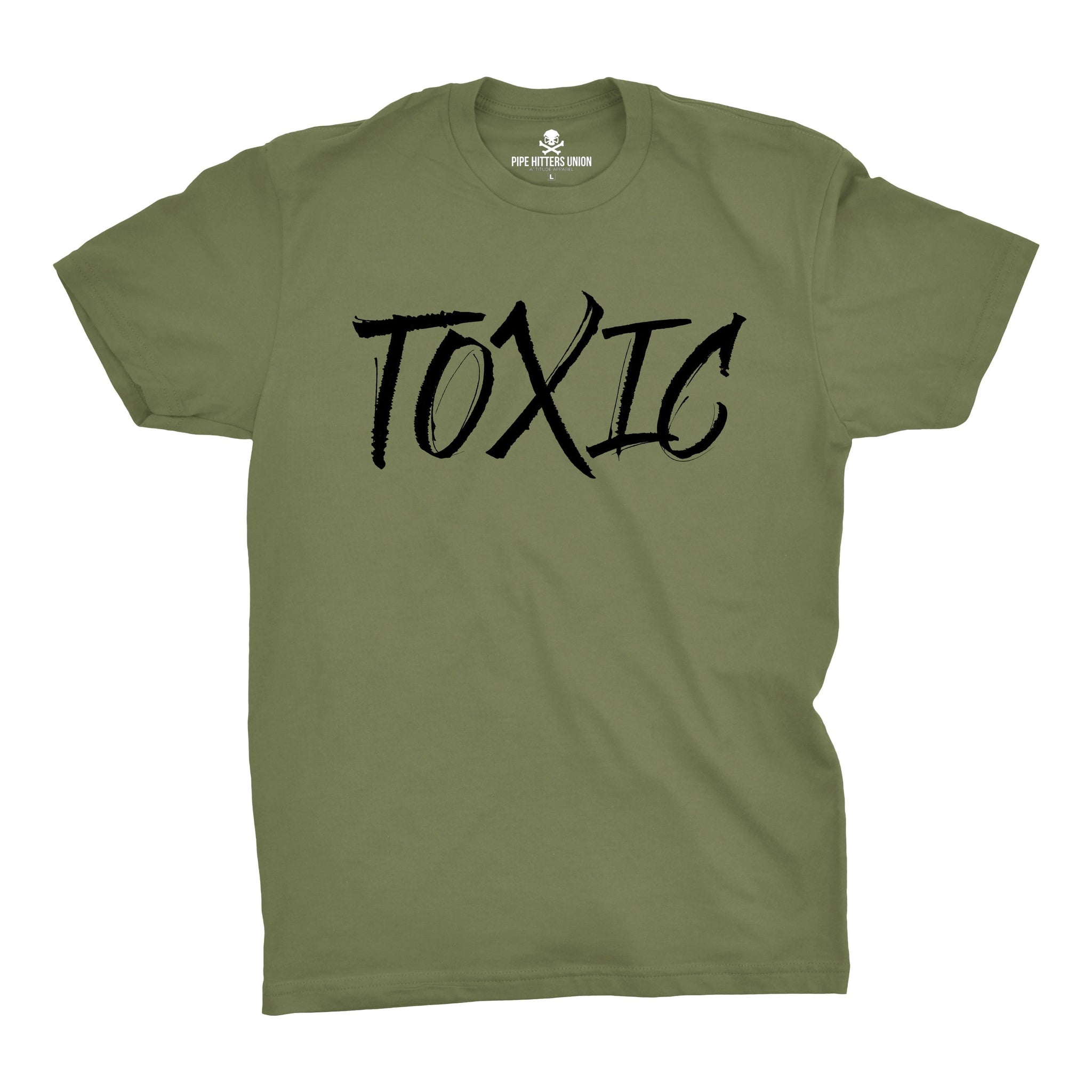 Toxic - Military Green - T-Shirts - Pipe Hitters Union