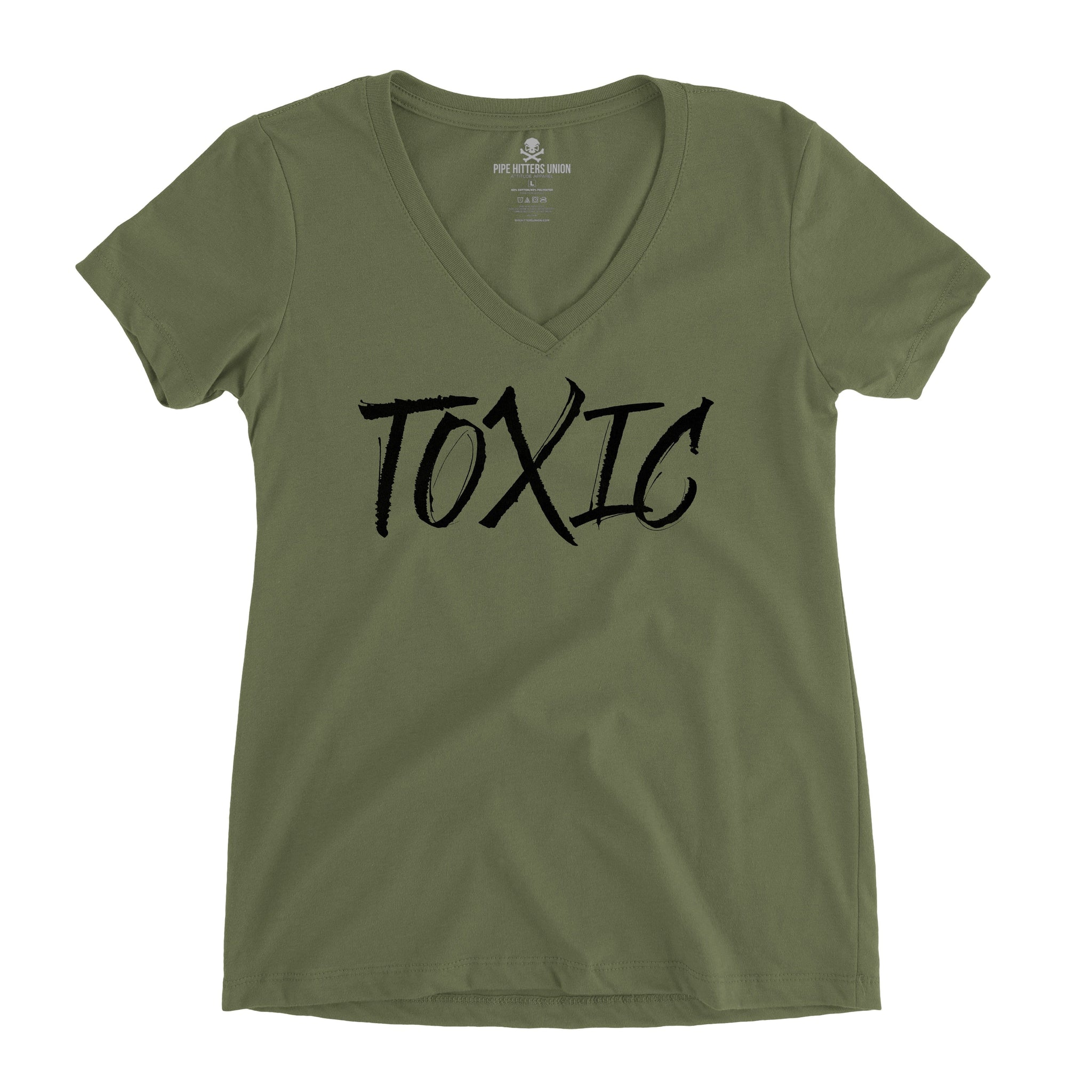 Toxic (V-Neck) - Pipe Hitters Union