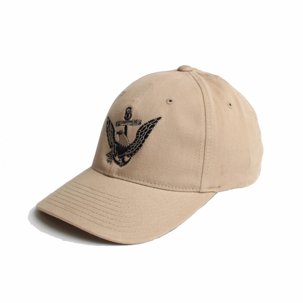 US Navy Eagle Anchor - Khaki - Hats - Pipe Hitters Union