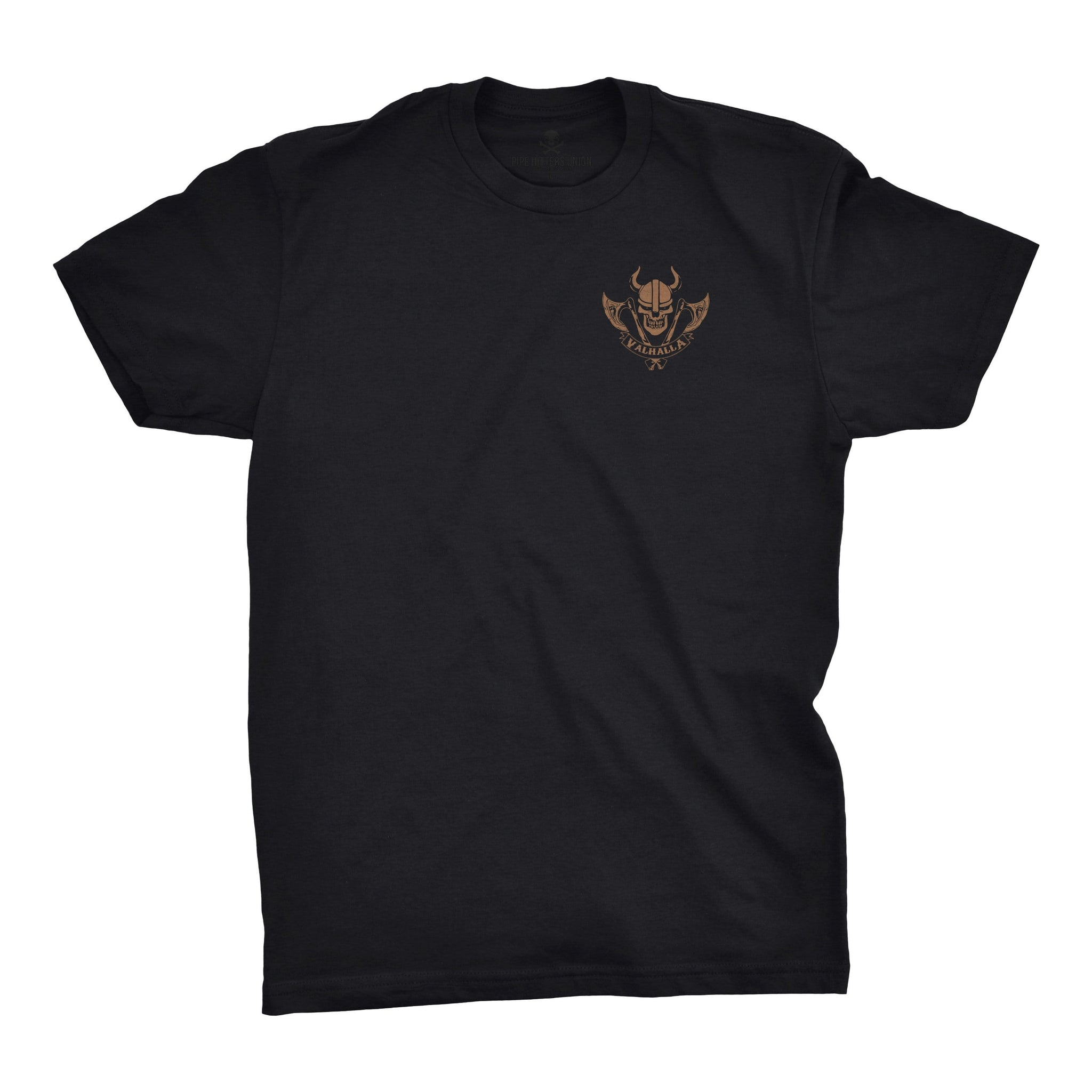 PHUMC Valhalla Chapter Tee - Black - T-Shirts - Pipe Hitters Union