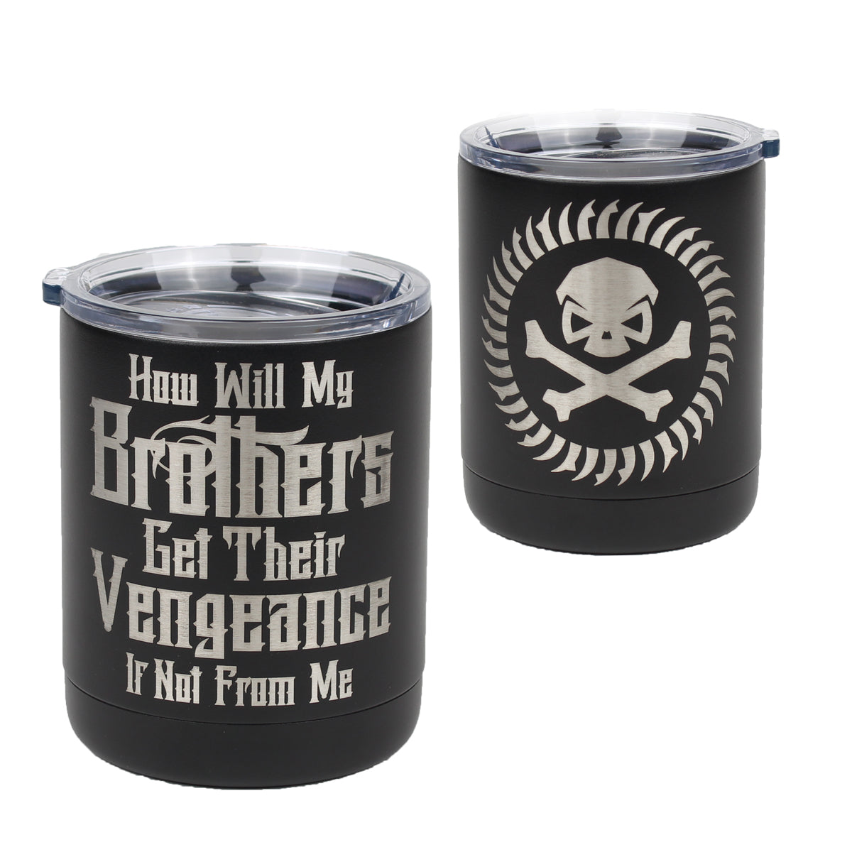 Brothers Vengeance - 10oz Lowball - Pipe Hitters Union