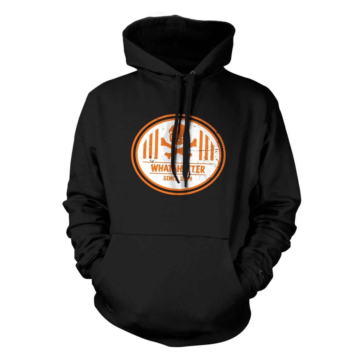 Whatahitter Hoodie - Black - Hoodies - Pipe Hitters Union