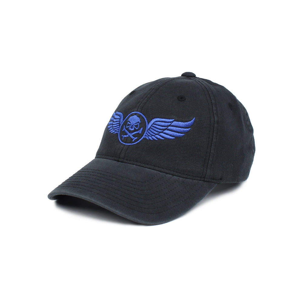 PHU Wings - Black/Blue - Hats - Pipe Hitters Union