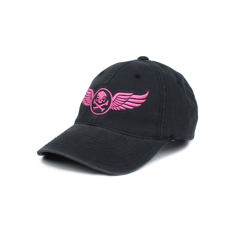 PHU Wings - Black/Pink - Hats - Pipe Hitters Union