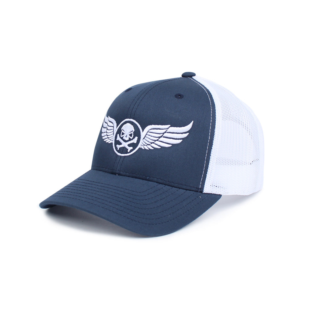 PHU Wings Trucker - Blue/White - Hats - Pipe Hitters Union