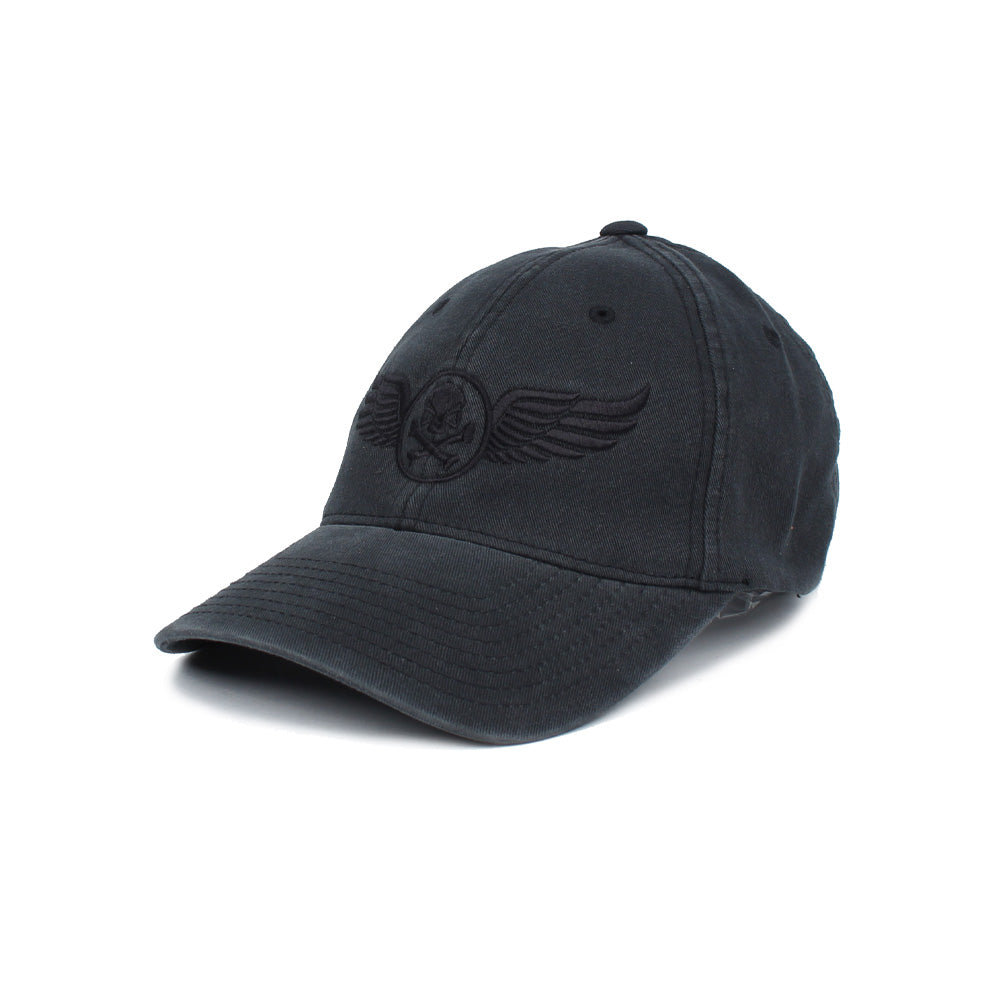 PHU Wings - Black/Black - Hats - Pipe Hitters Union
