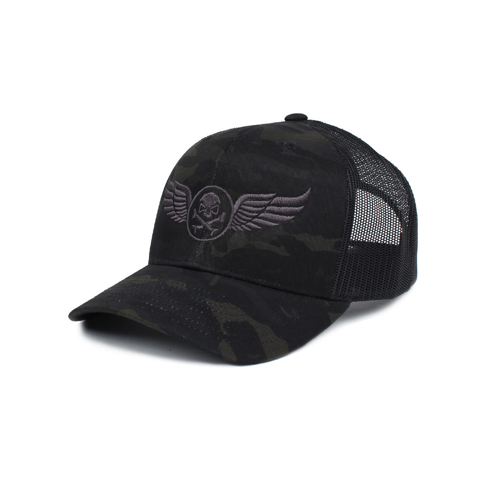 PHU Wings Trucker - BlackMultiCam/Black - Hats - Pipe Hitters Union
