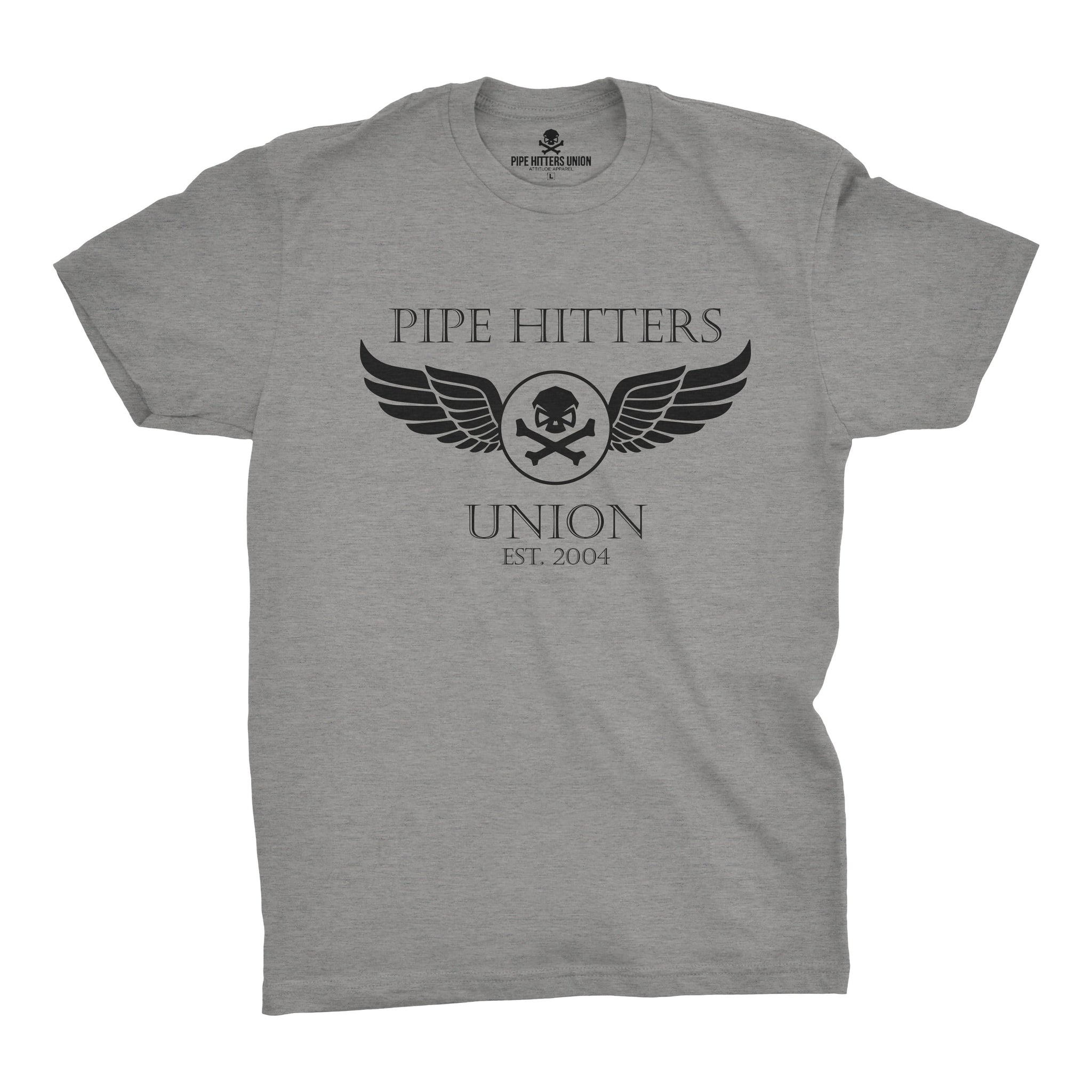 Wings - Grey - T-Shirts - Pipe Hitters Union