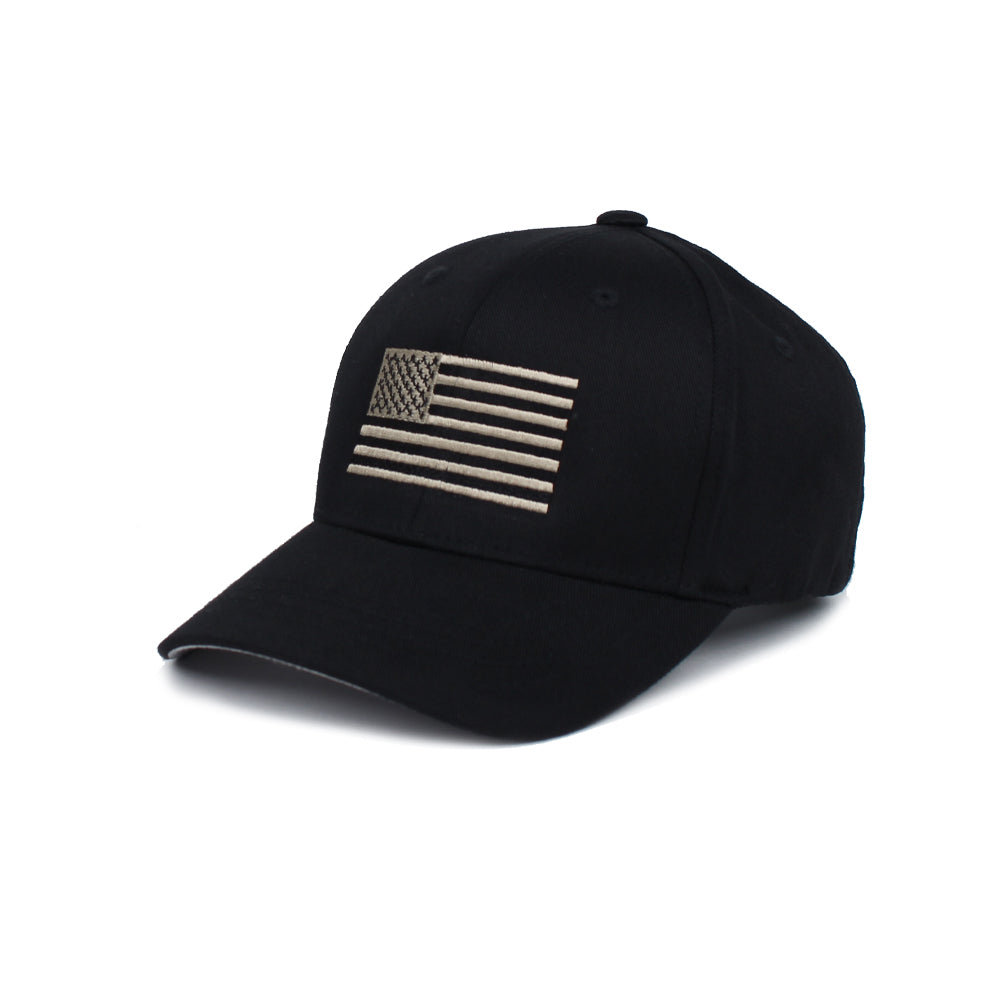 American Flag - Youth - Black/Pewter - Hats - Pipe Hitters Union