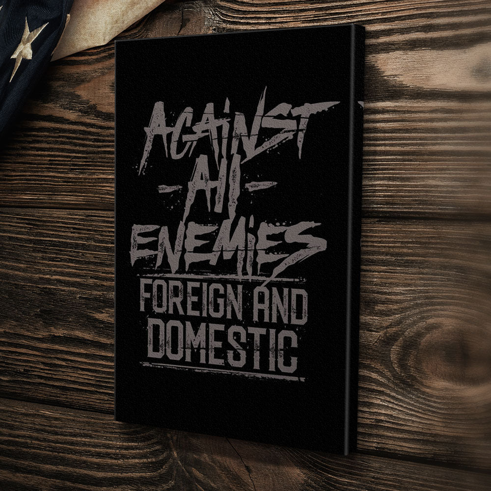 Against All Enemies - Canvas -  - Canvas - Pipe Hitters Union