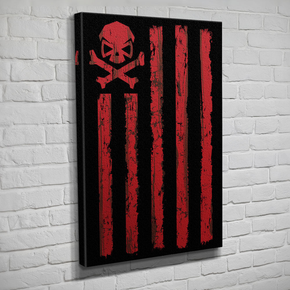Battle Stripes - Canvas - Black/Red - Canvas - Pipe Hitters Union