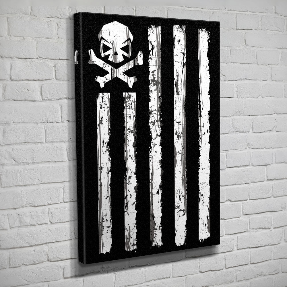 Battle Stripes - Canvas - Black/White - Canvas - Pipe Hitters Union