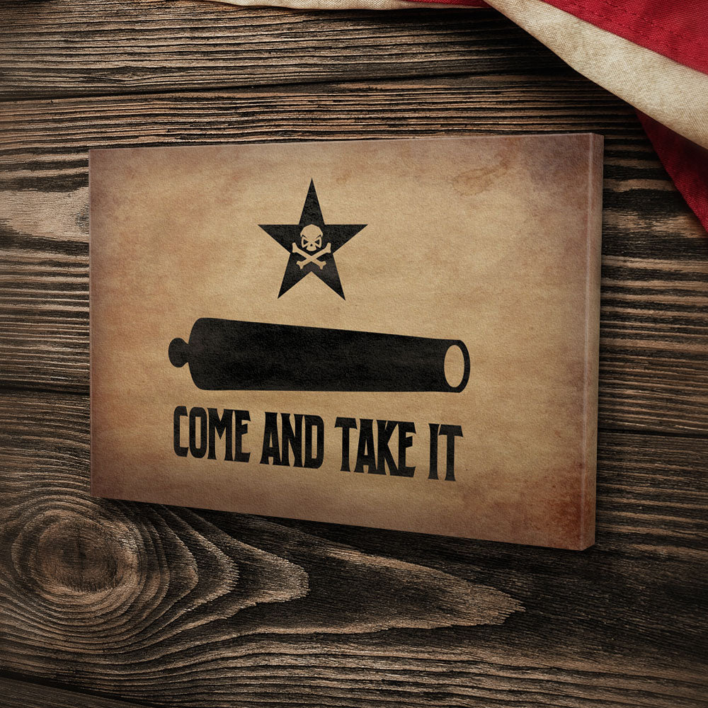 Come and Take It - Canvas - Pipe Hitters Union