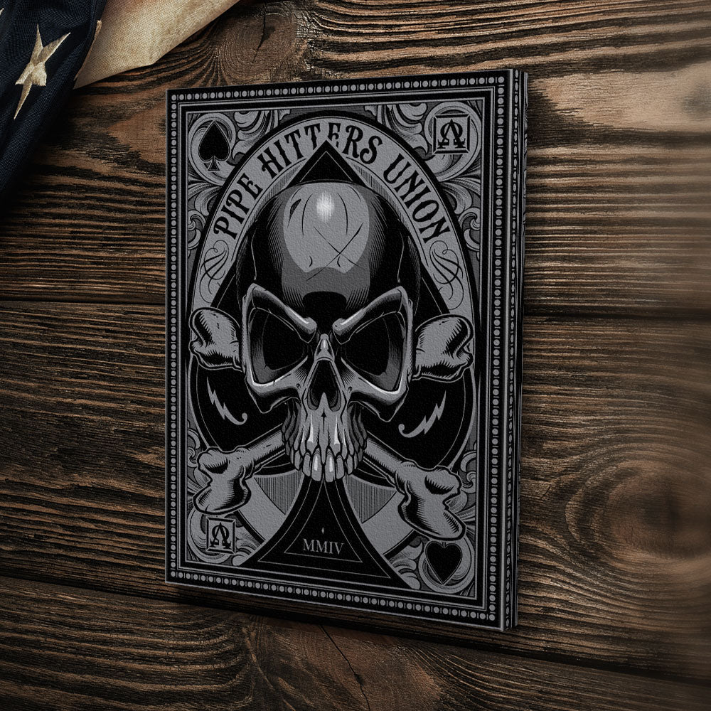 Death Card - Ace - Canvas - Pipe Hitters Union