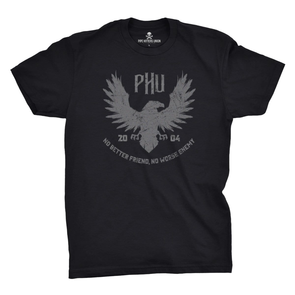 Eagle Tee - Black - T-Shirts - Pipe Hitters Union