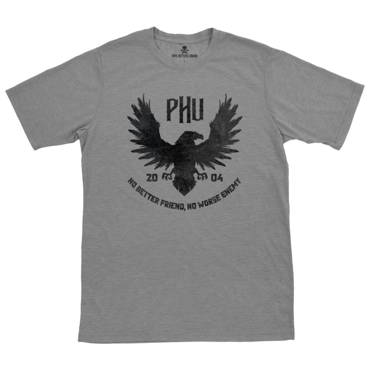 Eagle Tee - Grey - T-Shirts - Pipe Hitters Union