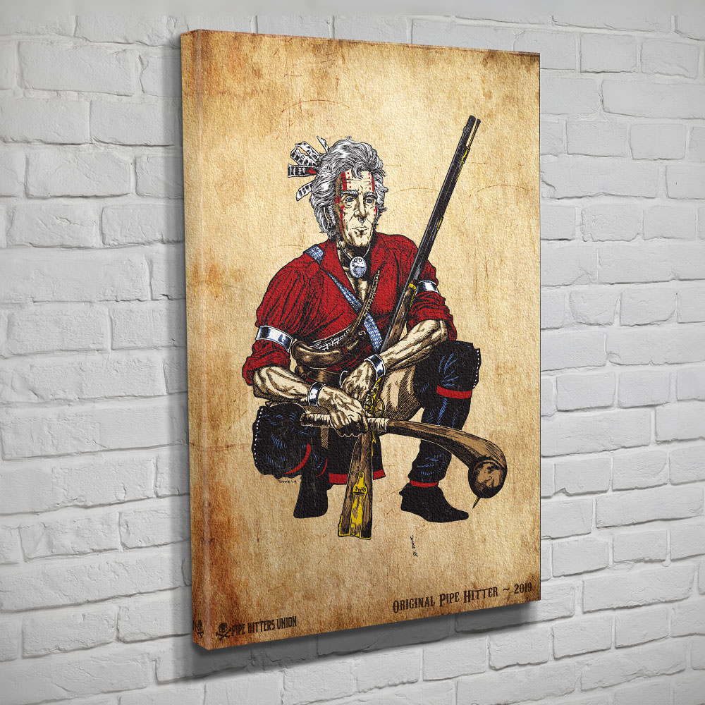 Original Pipe Hitter - Andrew Jackson - Canvas - Pipe Hitters Union