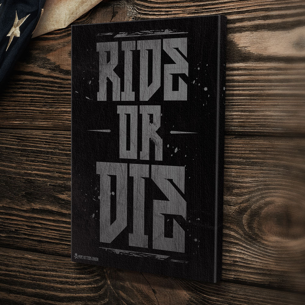 Ride or Die - Canvas - Pipe Hitters Union