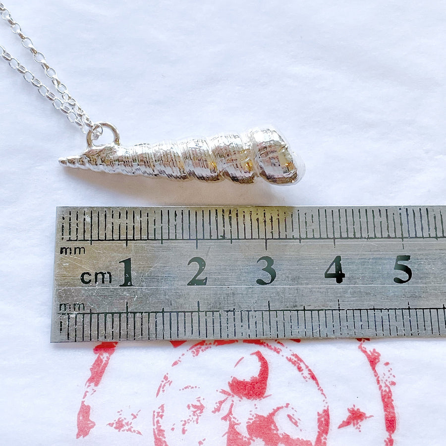 Unicorn Horn - Shell Necklace
