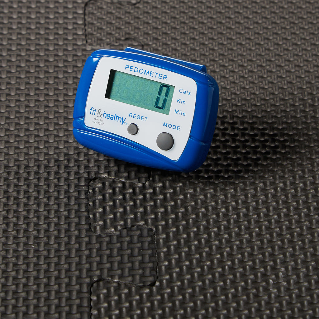 Calorie Counting Digital Pedometer