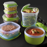 Fresh Selects 17-Piece Portion Container Set