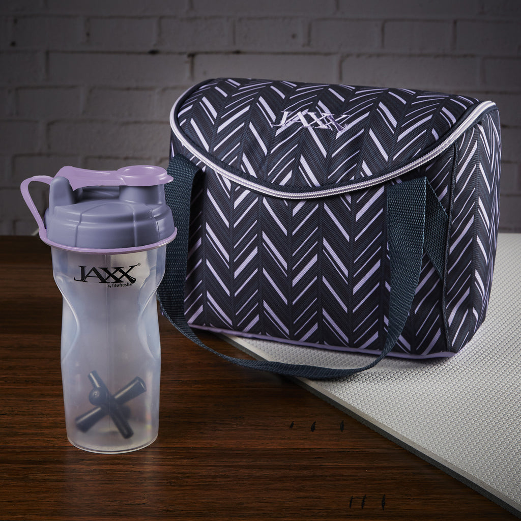 Jaxx FitPak Meal Prep Mini-Tote Bag