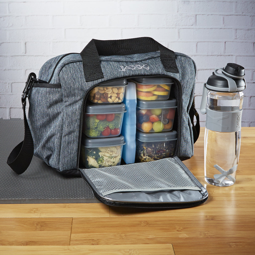 40e1a58d1921 Jaxx FitPak Commuter Meal Prep Bag with Shoulder Strap – JAXXFitness