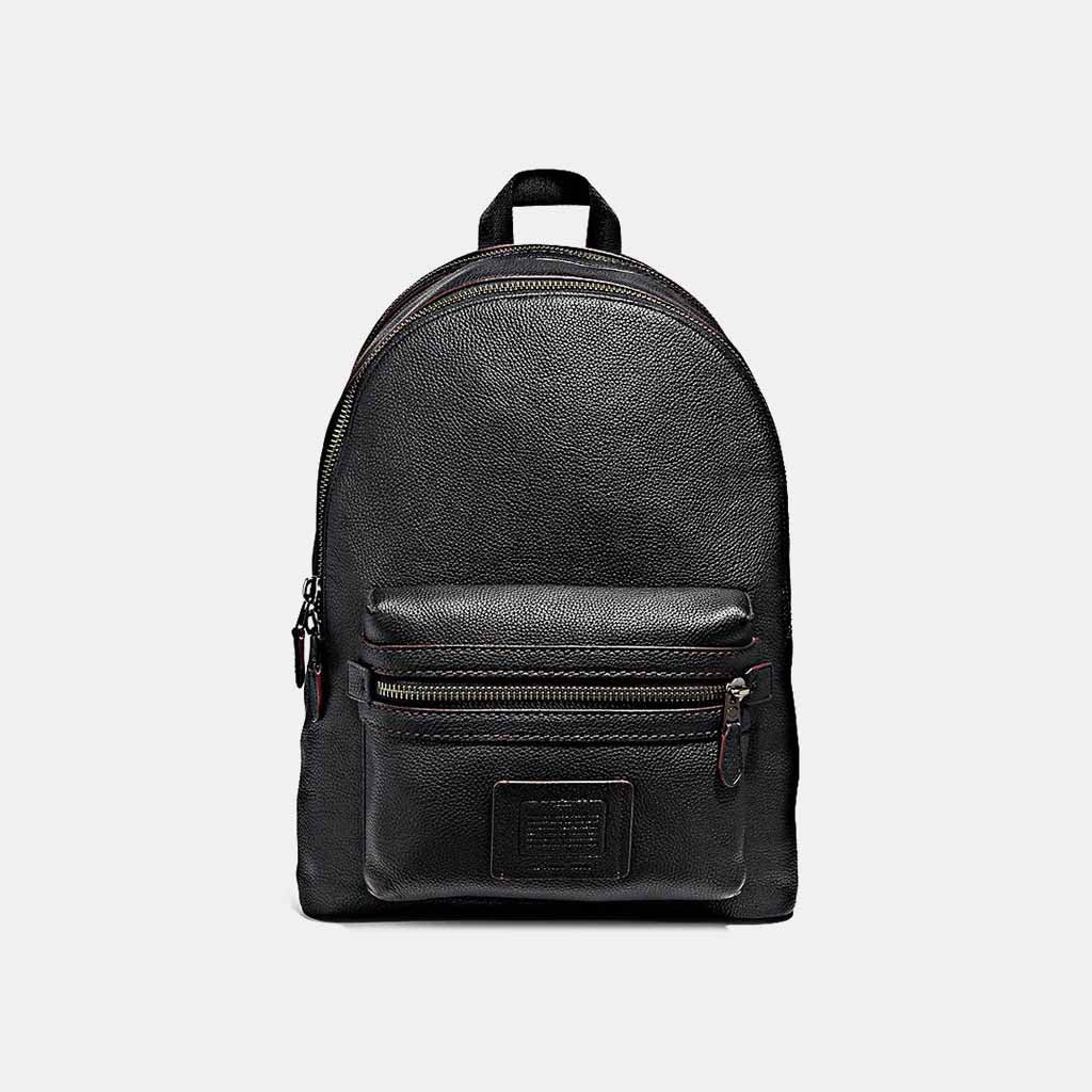 Coach Free Leather Pebbled In Backpacks Academy Elevtd Backpack rSHaqFr