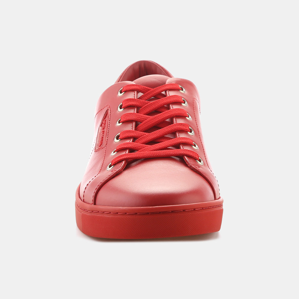 RED/ROSSO CALF LEATHER