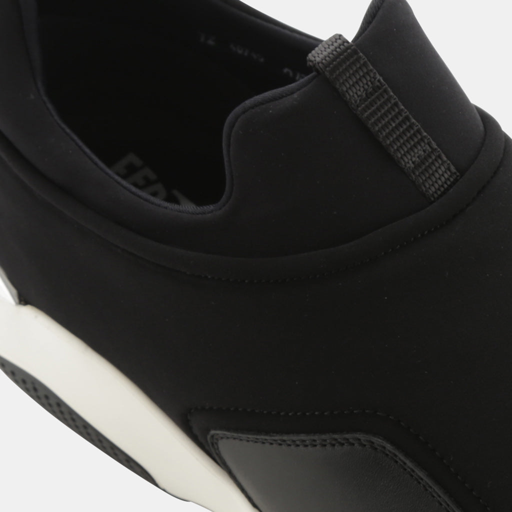 BLACK CALFSKIN/SYNTHETIC