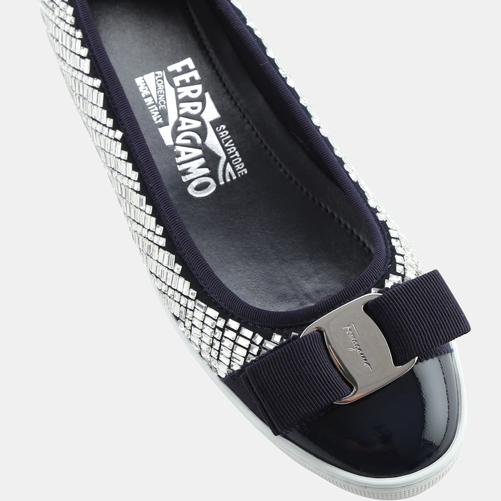 OXFORD BLUE MILLEN PATENT LEATHER