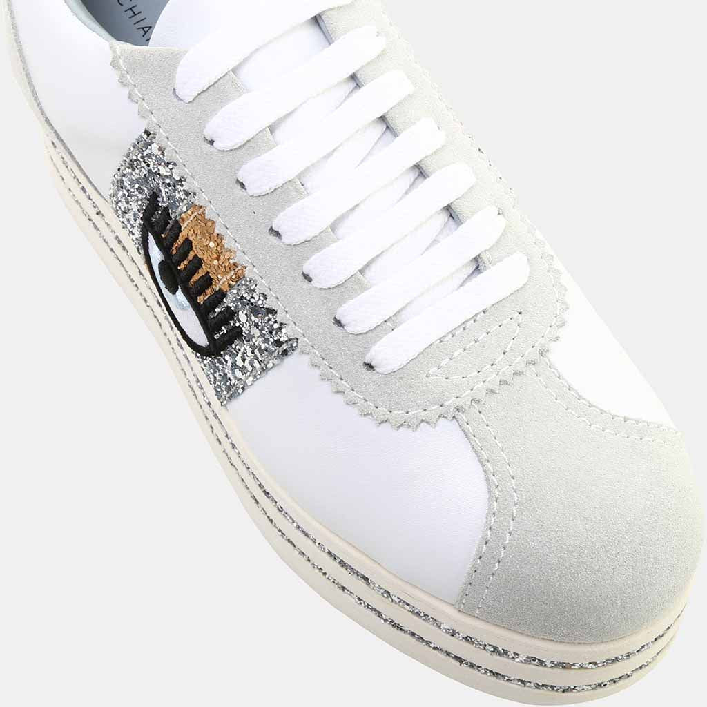WHITE CALF LEATHER