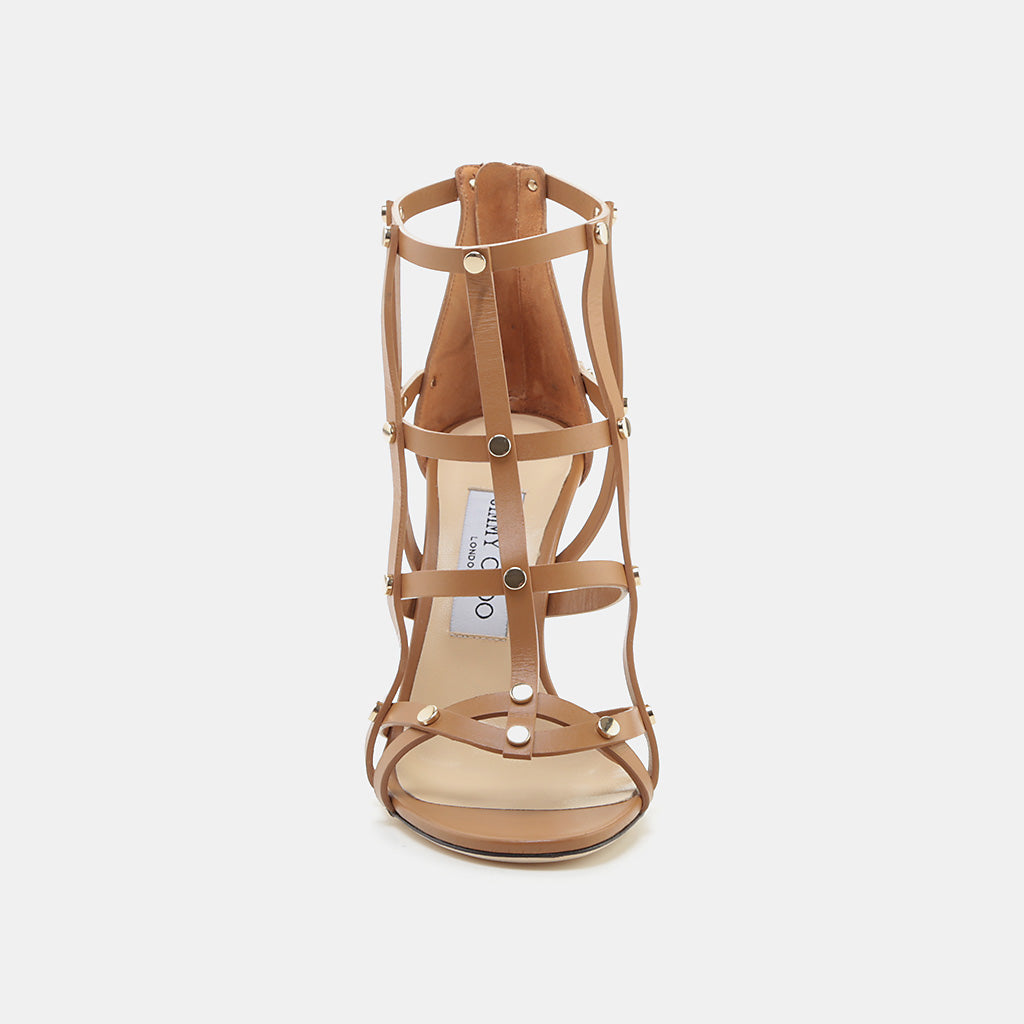 CUOIO/LIGHT GOLD CALF LEATHER