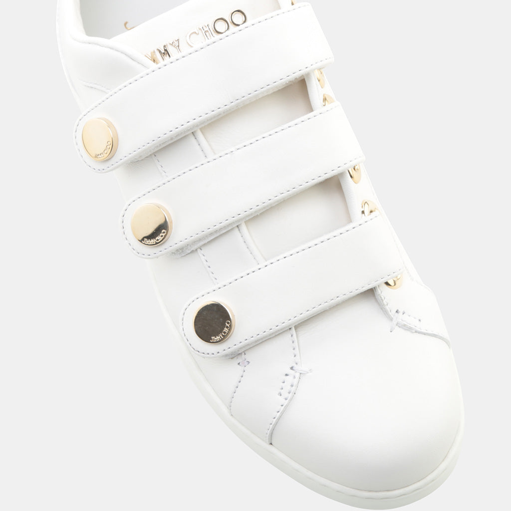 WHITE CALFSKIN LEATHER