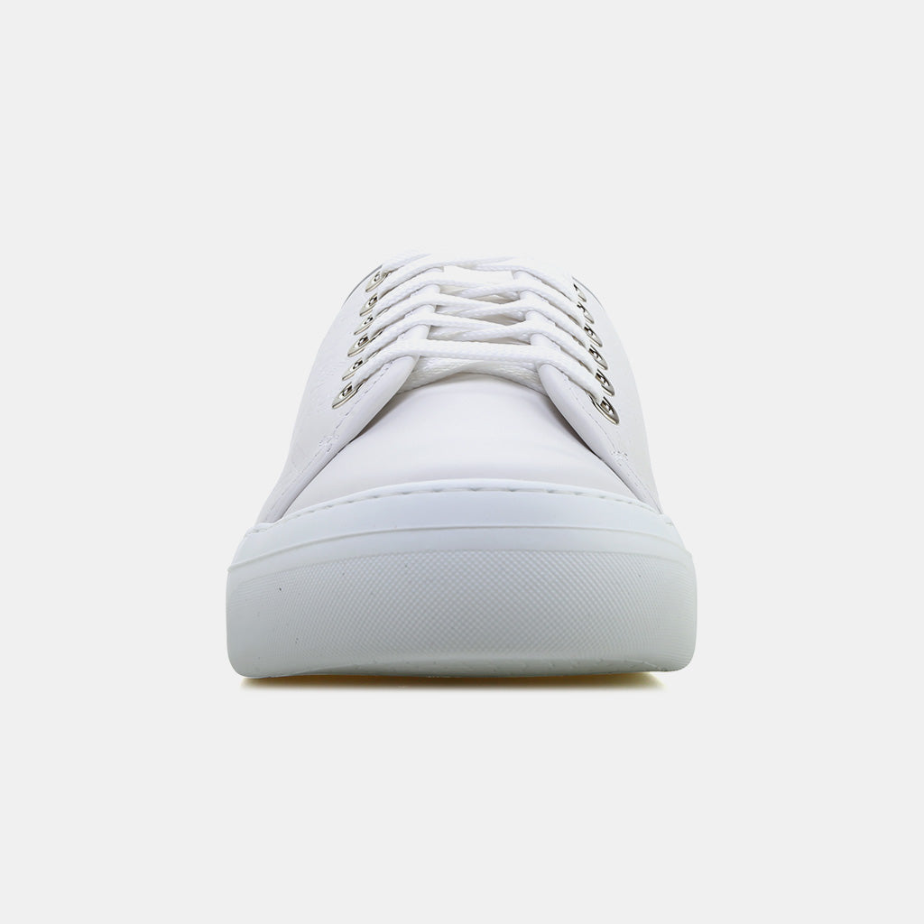 WHITE LEATHER/EMBOSSED JIMMY CHOO
