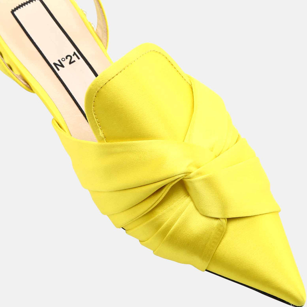 YELLOW SATIN