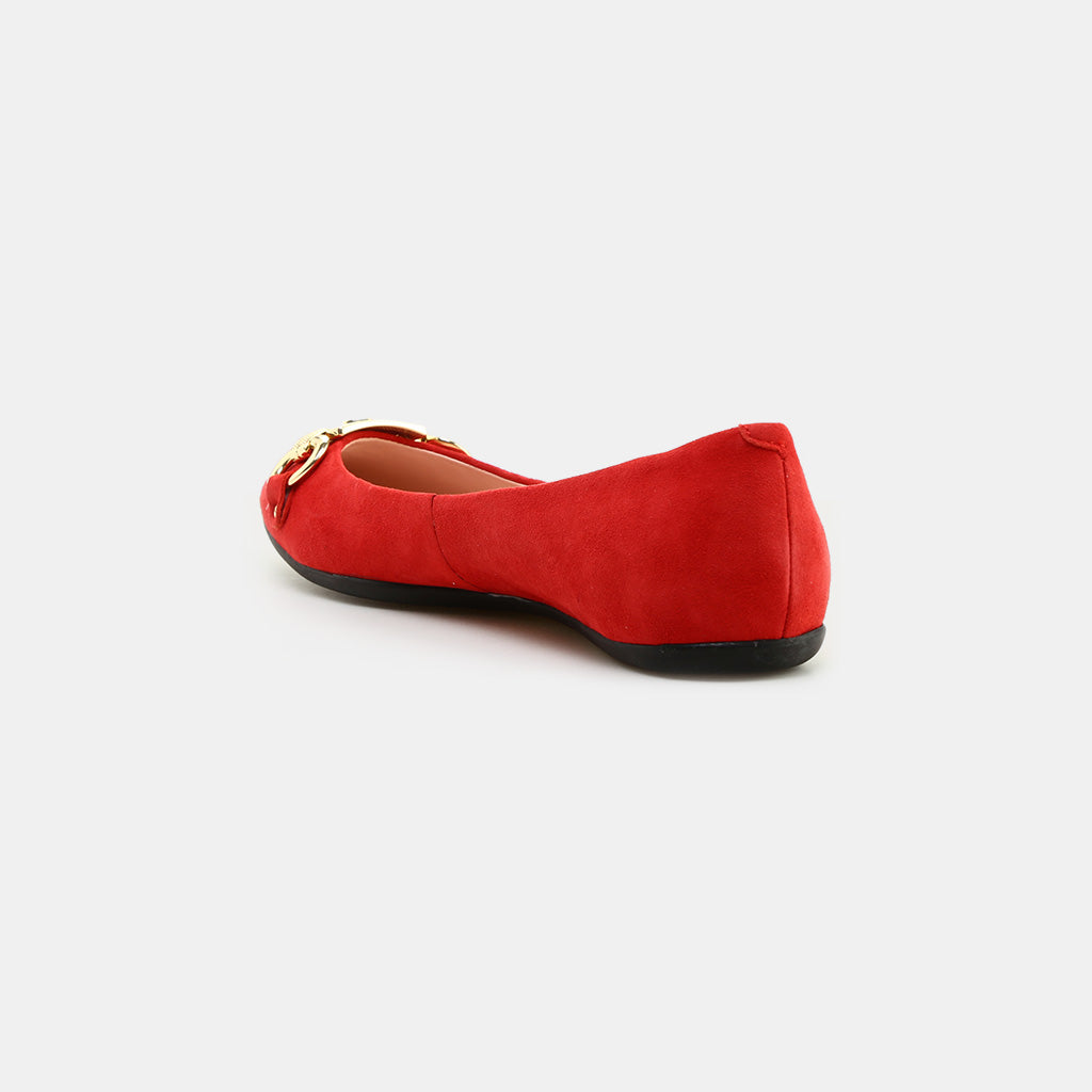 FAIRYTALE RED KID SUEDE
