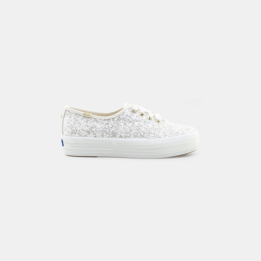 60fd7fdcafe7 KEDS x kate spade new york Triple Glitter Sneakers