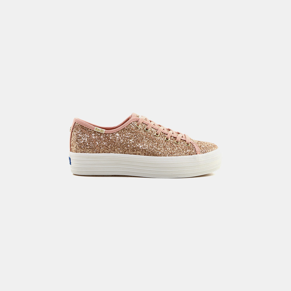 30fe8cf3f39e KEDS x kate spade new york Triple Kick Glitter Sneaker Sneakers ...