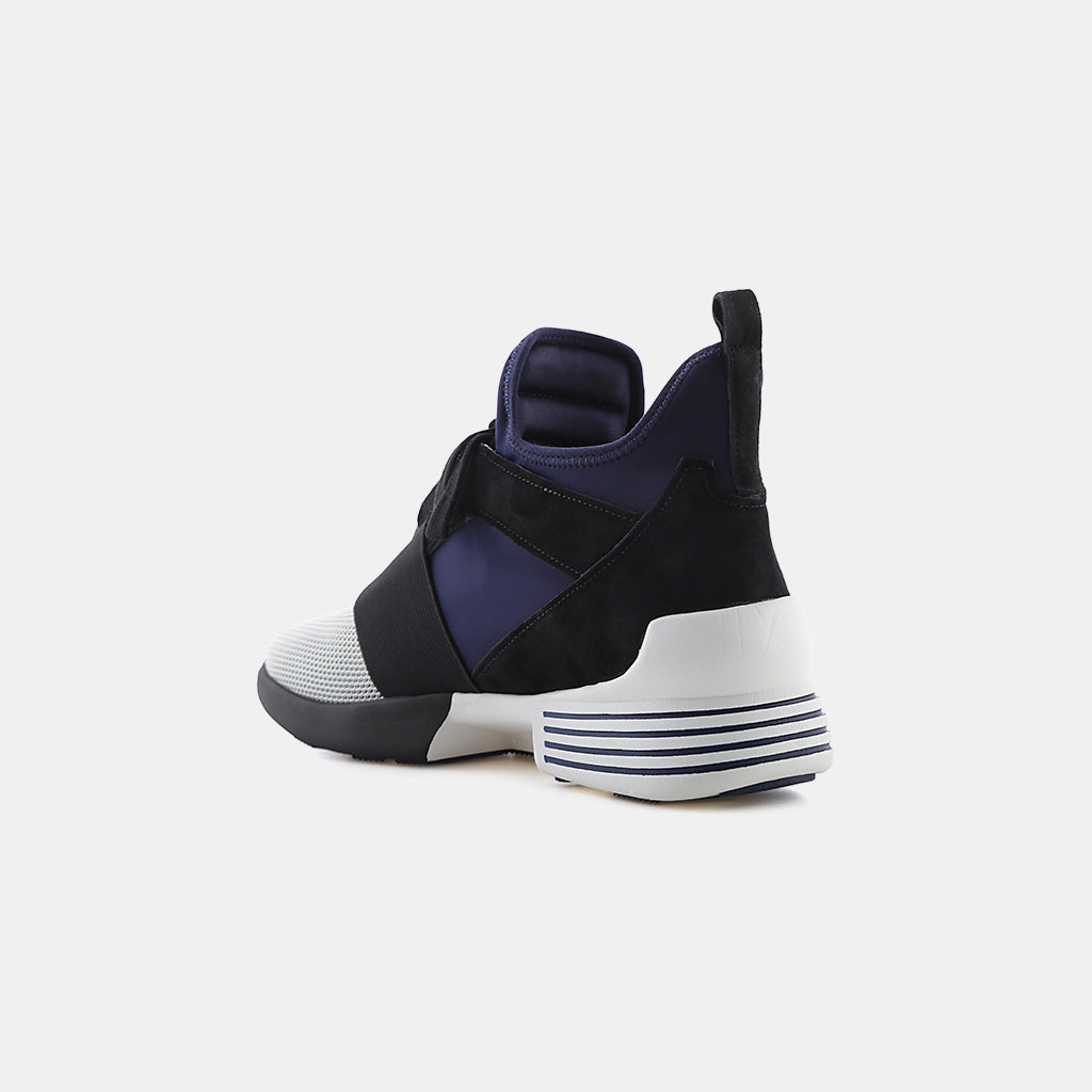 WHITE/BLACK/NAVY NUBUCK/NEOPRENE/MESH