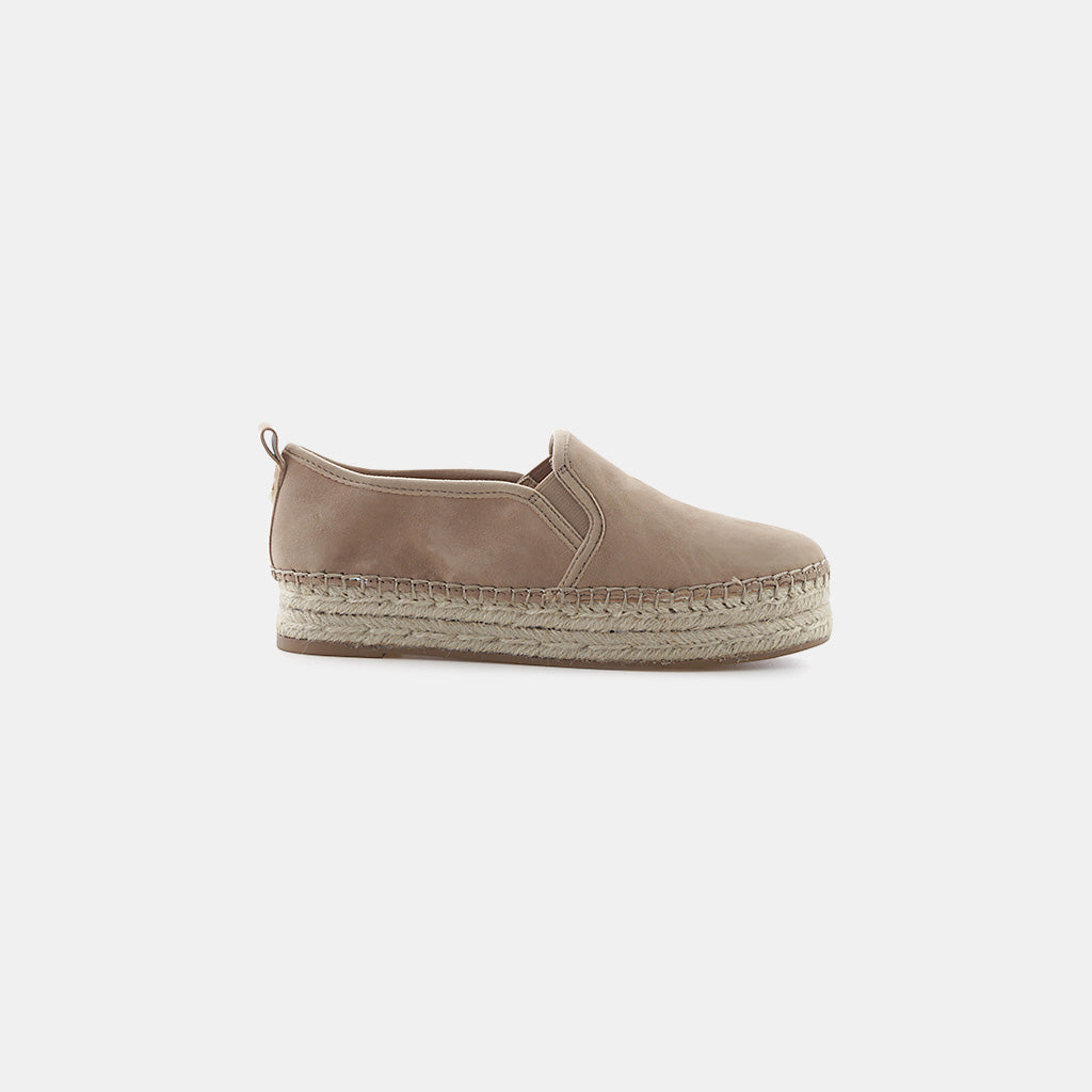 OATMEAL KID SUEDE LEATHER