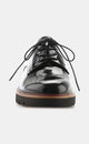 Metro Mirror Leather Lug-Sole Oxford