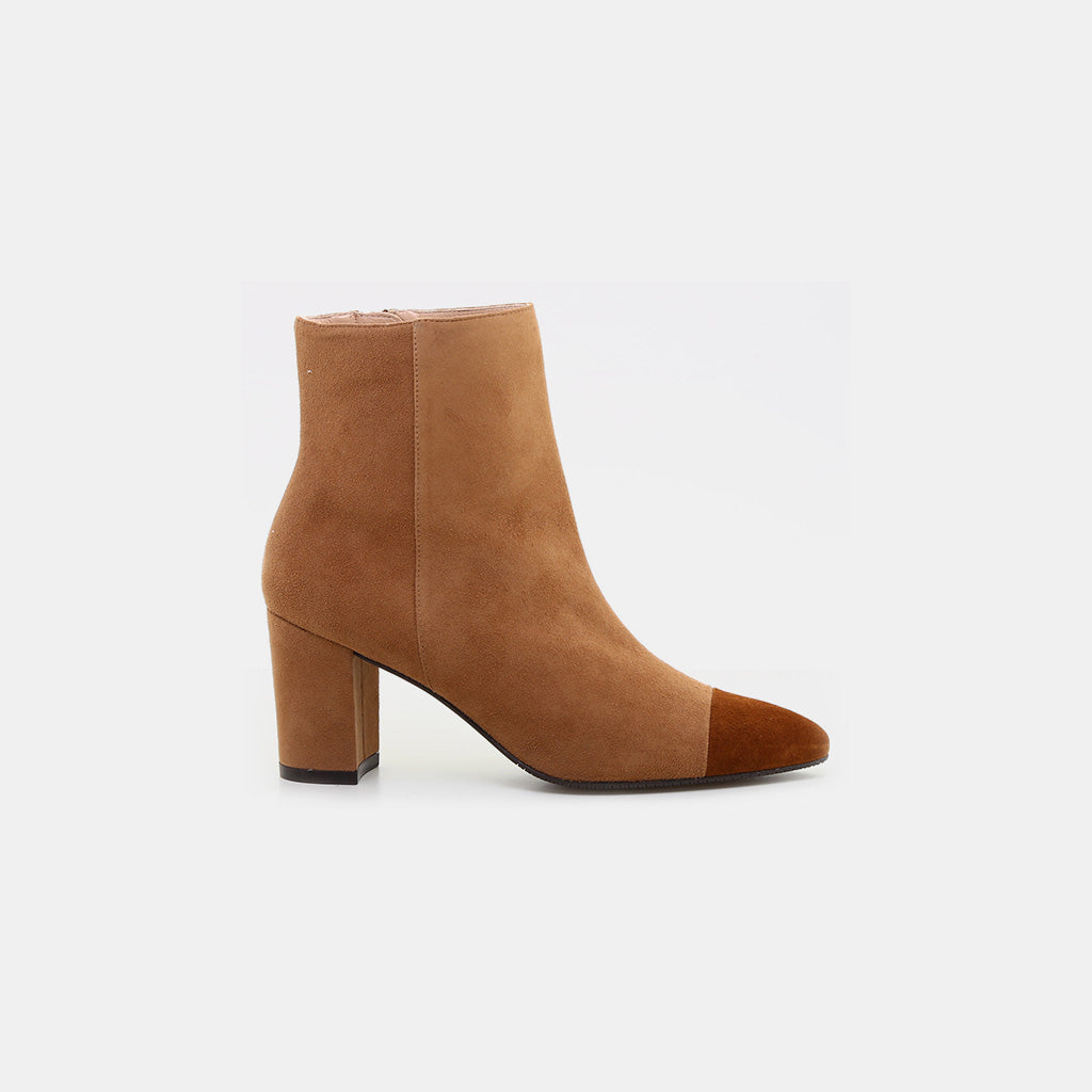CAMEL/COFFEE SUEDE