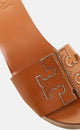 TAN/SPARK GOLD BOVINE LEATHER